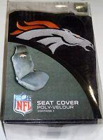 Nfl Car Seat Cover By Fremont Die - Denver Broncos