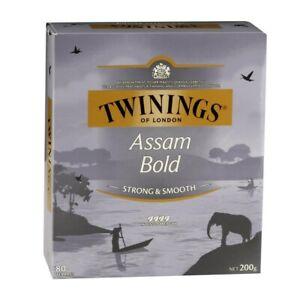 Twinings Assam Bold Tea Bags 80 pack 200g