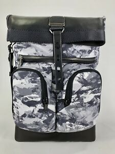 b69b500911d Tumi Alpha Bravo London Roll Top Laptop Business Backpack Arctic ...