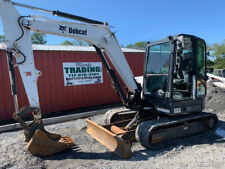 2017 Bobcat E63 Hydraulic Midi Excavator With Cab Super Clean Only 2200hrs