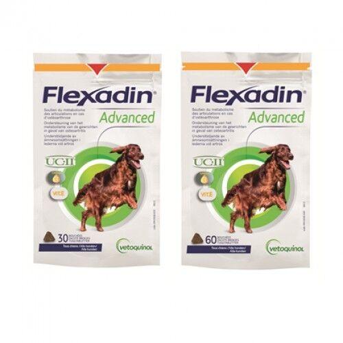 Flexadin Advanced for Dogs (Sizes  30 Chews  60 Chews)