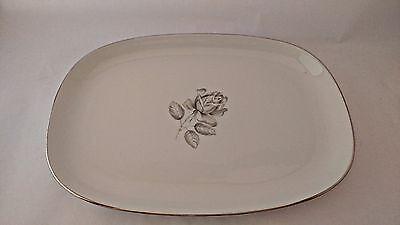 """s Rare Belcrest Bavaria Krautheim Whispering Rose 10 5//8/"""" Dinner Plate"""