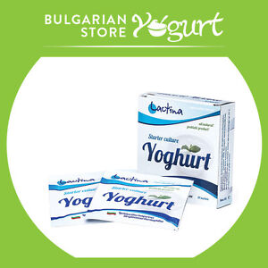 Details about Bulgarian Yoghurt Starter Culture Lactina for 10l - pack of 2