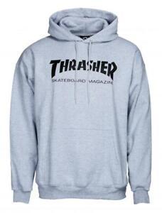 thrasher Sweatshirt Thrasher Skate Mag Crewneck Heathergrey