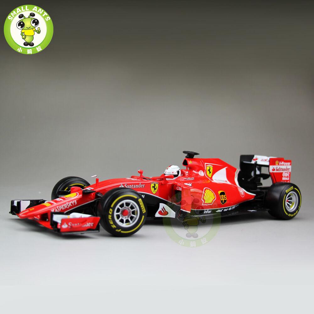 1 18 2015 Ferrari Formula 1 F1 SF15-T SEBASTIAN VETTEL No 5 Bburago 16801