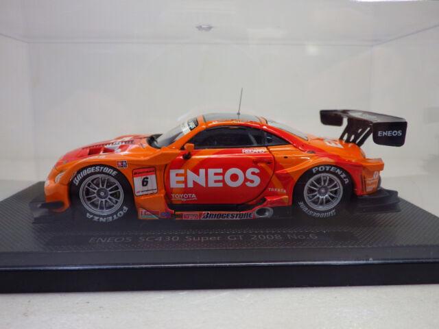 TOYOTA  ENEOS  SC430 Super GT 2008 No.6  Orange  1:43  EBBRO NEW
