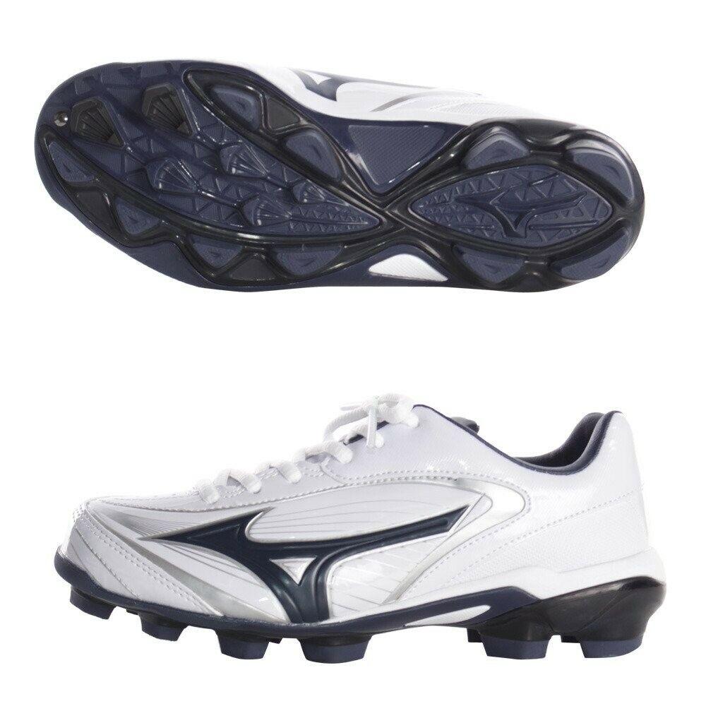 Mizuno Béisbol Zapatos Seleccionar Nine Entrenamiento 11gp1720 blancoo Marino Con