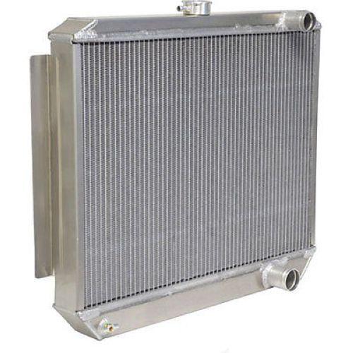 "22.75/"" Wide X 24/"" High Be Cool 35100 Bone Yard LS Swap Radiator Aluminum"