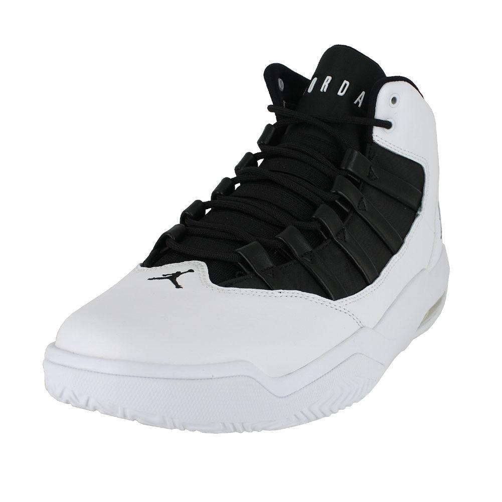 JORDAN MAX AURA Weiß schwarz schwarz AQ9084 100 100 100 MENS US GrößeS 13027b