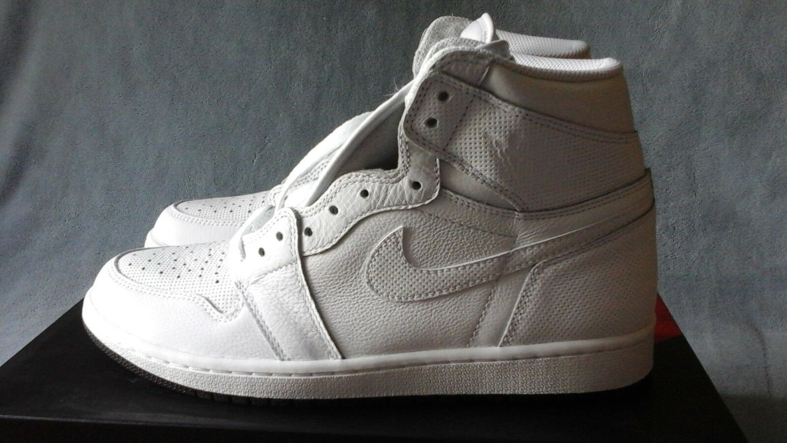 Nike Air blanco Jordan 1 retro High og blanco Air negro 555088-100 comodo 10feb5