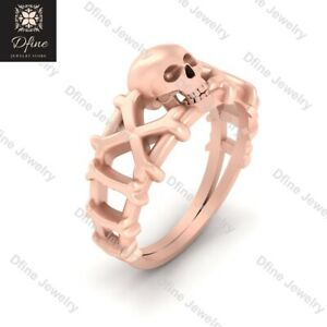 Skull And Crossbones Engagement Ring Jolly Roger Inspired Skull Crossbones Ring Ebay