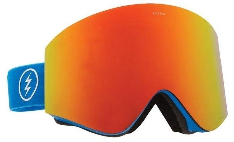 NEW EGX Electric EGX NEW blu rosso Mirror Uomo frameless ski snowboard goggles Ret 180 f89f9e