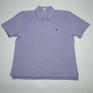 Brooks-Brothers-346-Original-Fit-Purple-Casual-Polo-Shirt-Men-039-s-Size-2XL-XXL