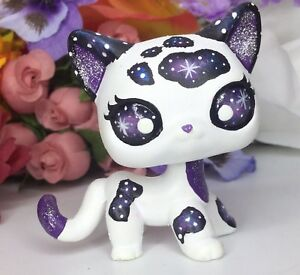 Image of: Pics Image Is Loading Littlestpetshopcuteshorthairgalaxykitty Youtube Littlest Pet Shop Cute Short Hair Galaxy Kitty Cat Ooak Custom