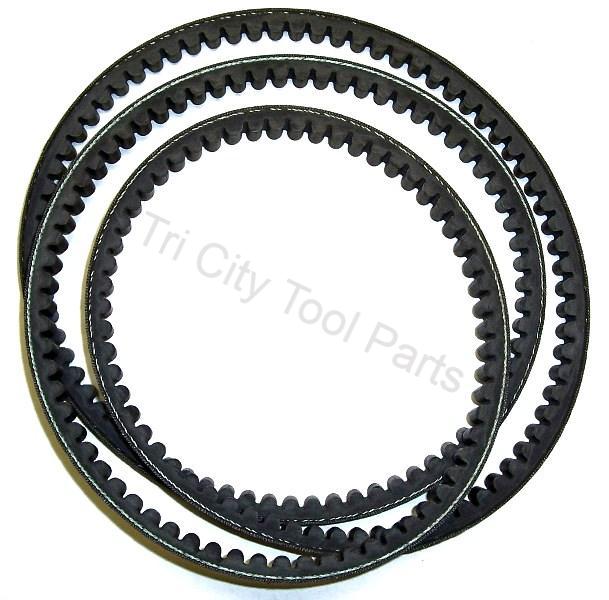 """V Belt for BT020401AV Campbell Hausfeld Air Compressor 60/"""" Drive Belts 2-Pack"""