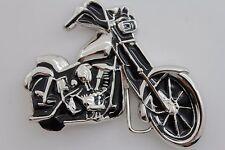 Men Women Antique Silver Metal Fashion Belt Buckle Motorcycle Biker Rocker Punk