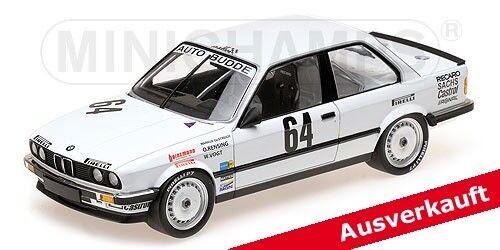 MINICHAMPS 155862664 1 18, BMW 325i-Auto Budde Team  neu dans neuf dans sa boîte