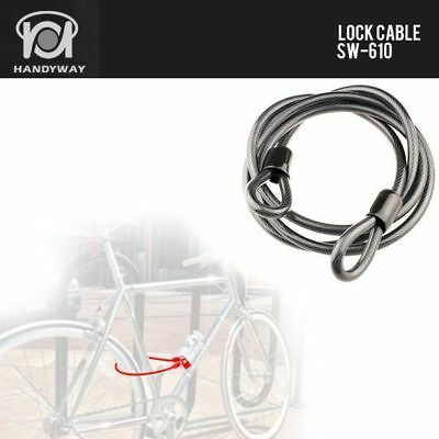 Bicycle Bike Cycling Lock Cable 10x2300mm