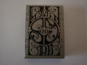 SMOKE & MIRRORS CARBON V7 DECK PLAYING CARDS BY DAN & DAVE MAGIC TRICKS COLLECT