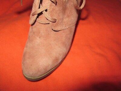 GÖRTZ Damen Schuhe Stiefel Wedge Ankel Boots Wedge GR 38 hellbraun