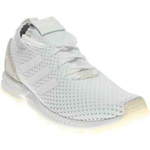 online store b7e78 a4727 Image is loading adidas-Zx-Flux-Pk-White-Mens