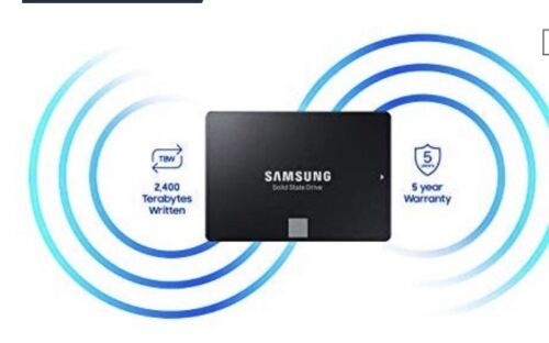 SSD Samsung 860 EVO 500GB Internal 2.5in