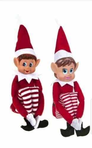 12 in environ 30.48 cm Rouge Coquin Elf Elfes BEHAVIN /'mal sur la durée de garçon et fille