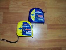 One Cummins 25 Ft Measuring Tape Easy Read Yellow or Blue Single Tape