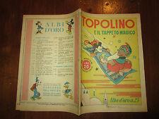 WALT DISNEY ALBO D'ORO N°25 TOPOLINO E IL TAPPETO MAGICO 26-10-1946