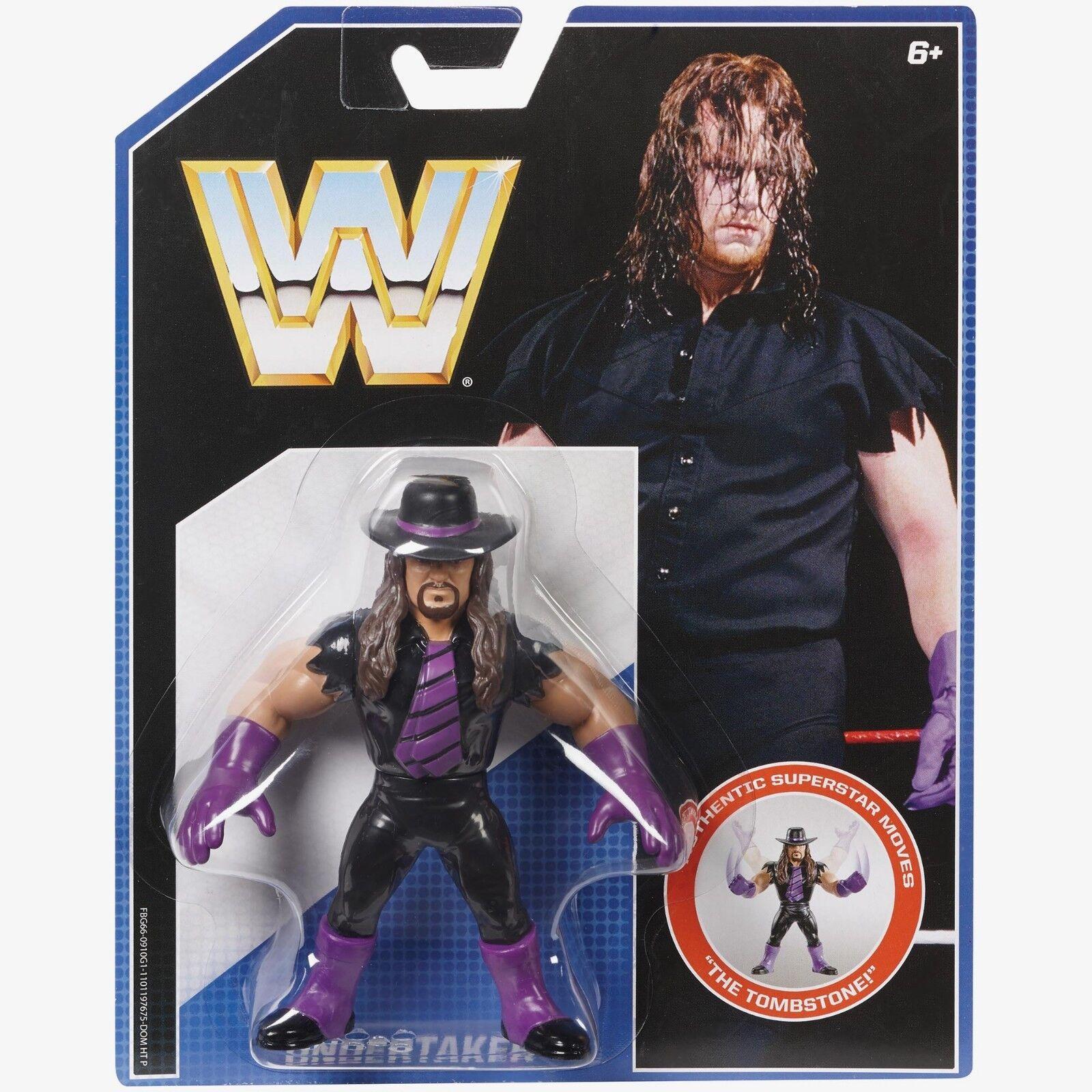 Wir retro - serie 1  Besteatter - wwf hasbro wrestling figur hulk krieger macho