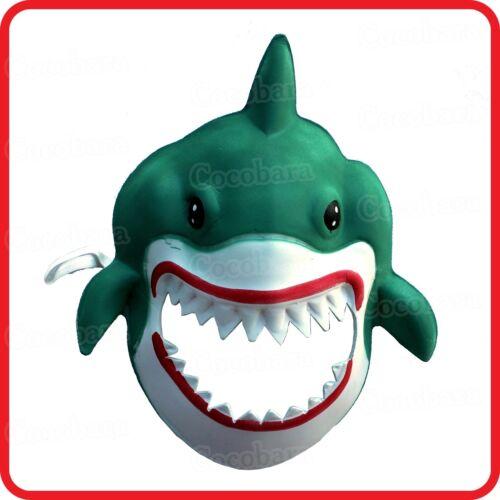 SHARK JAW MASK-ANIMAL COSTUME-DRESS UP-PARTY-HALLOWEEN