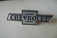 3 Chrome Chevy Chevrolet Vintage Style Bowtie Garage Cabinet Drawer Pulls Knobs