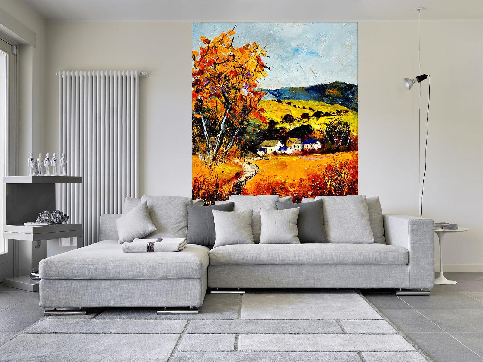3D Painte giallo Field 04 Wall Paper Wall Print Print Print Decal Wall AJ WALLPAPER CA b86c8e