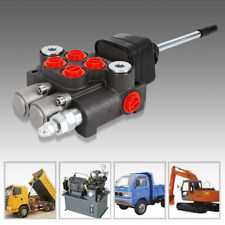 2 Spool Hydraulic Directional Control Valve For Tractor Loader 11gpm With Joystick