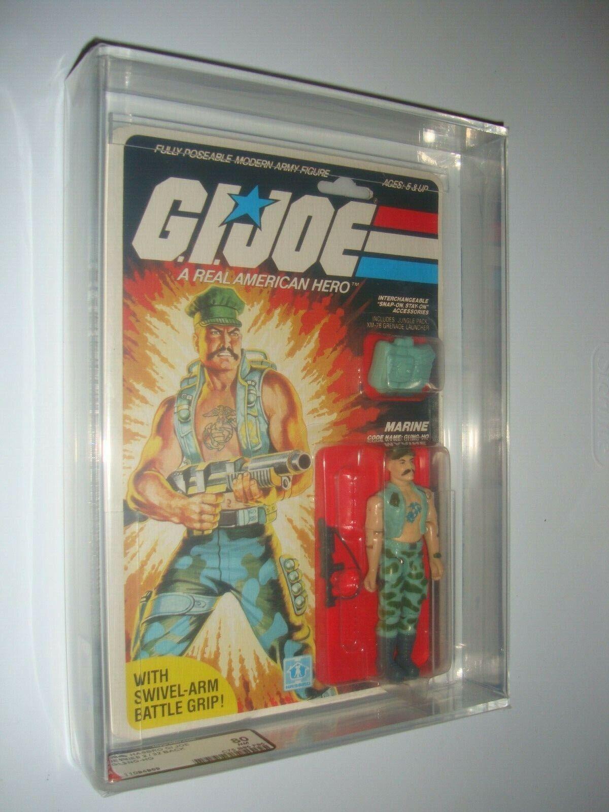 Vintage Hasbro GI Joe Gung-Ho Series 2 1983 32 Back  AFA 80 NM (75 85 85) L@@K