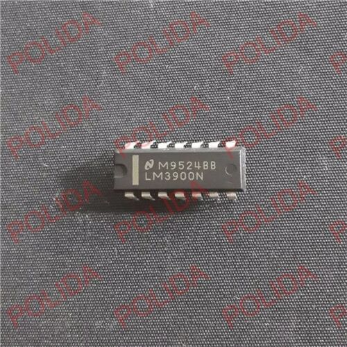 5PCS OPERATIONAL AMPLIFIERS IC NSC DIP-14 LM3900N