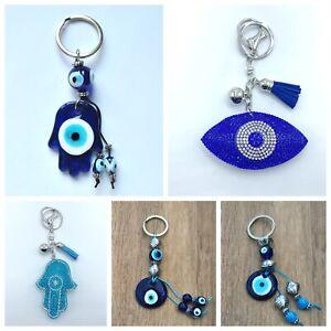Llavero-mal-de-ojo-azul-nuevo-amuleto-suerte-hamsa-nazar-hombre-mujer-regalo