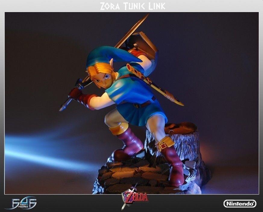 Los cuatro primeros  Zelda  la estatua de la cigüeña de Zola (la flauta del tiempo)