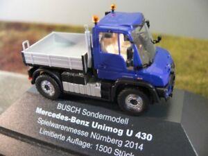 1-87-busch-MB-Unimog-u-430-coleccion-juguetes-feria-2014-Nuremberg