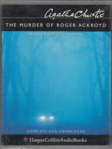 The-Murder-Of-Roger-Ackroyd-Agatha-Christie-4-Cassette-Audio-Book-Unabridged