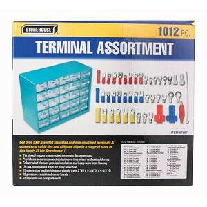 1012-Piece-Terminal-Connector-Set-Electrical-Automotive-Wiring-Wire-Crimp-On
