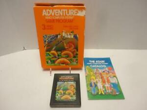 Atari-2600-Video-Game-100-Complete-Tested-amp-Works-ADVENTURE