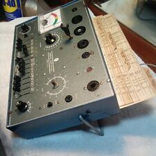 New Listingvintage Commercial Trades Institute Tc 20 Vacuum Tube Testercharts Price 2 Sell