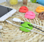 10 CABLE 3 Holes CLIP GRIP DESK WALL ORGANIZER DESK WIRE CORD USB CHARGER HOLDER