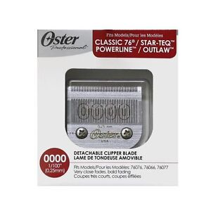 Oster Detachable Replacement Blade 0000 For Classic 76