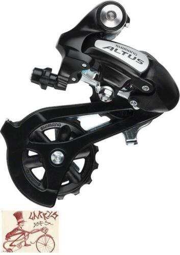 SHIMANO RD-M310 ALTUS 7//8 SPEED BLACK DIRECT MOUNT REAR DERAILLEUR-WITH PACKAGE
