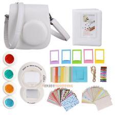 7 in 1 Instant Film Camera Accessories Bundles for Fujifilm Instax Mini 8 White