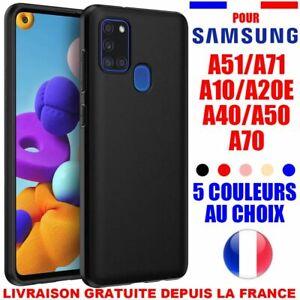 Coque Housse Samsung Galaxy a10 a20e a40 a50 a41 a42 a31 a32 a51 a52 Silicone