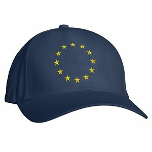 Image is loading Embroidered-European-Star-Baseball-cap-European-Union-EU- b52c1e6f6b7