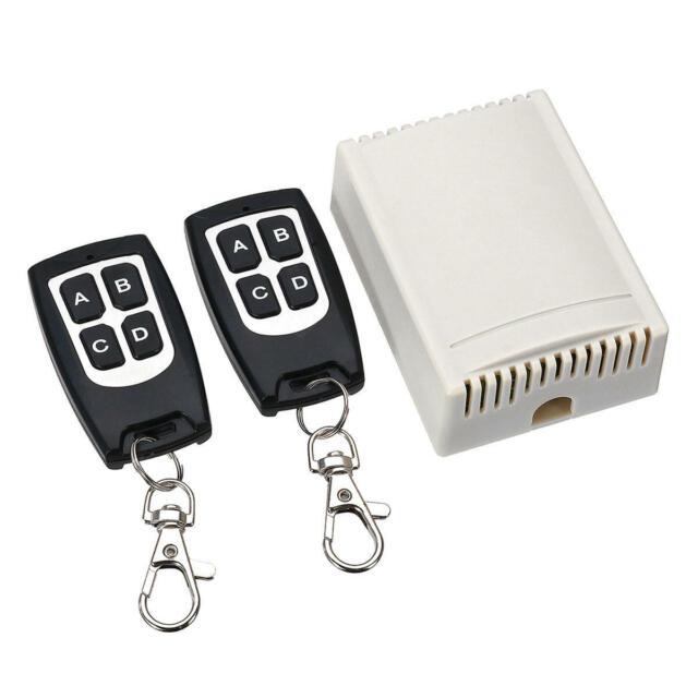Geekcreit® 12V 4CH Channel 433Mhz Wireless Remote Control Switch With 2 Transmit